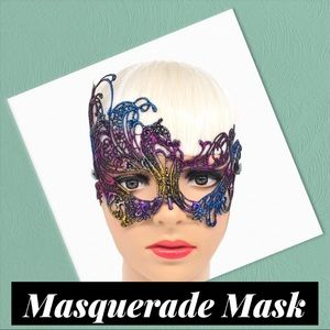 Sexy Rainbow Lace Mask (A5)